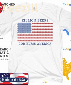 ZILLION BEERS AMERICA 2020 TSHIRT