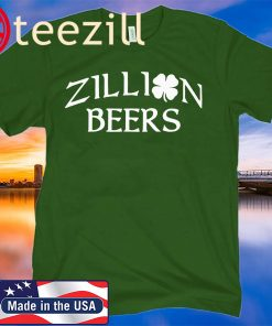ZILLION BEERS CELTIC PATRICK'S DAY 20220 TSHIRT