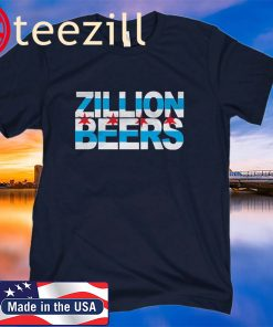 ZILLION BEERS CHI US FLAG SHIRT
