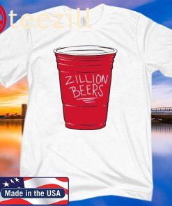 ZILLION BEERS CUP TEE SHIRT
