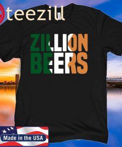 ZILLION BEERS IRELAND TEE SHIRT