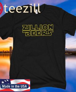 ZILLION BEERS SPACE SHIRT