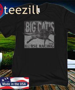 BIG CAT'S HORSE RACING TEE SHIRT