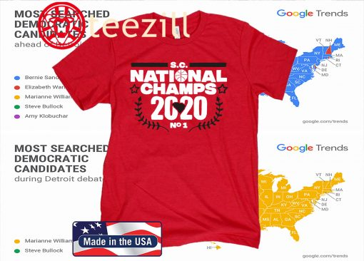 Celebrate the de facto national champions with this shirt