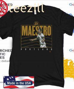 Diego Valeri El Maestro Shirt, Portland - MLSPA QuoTe