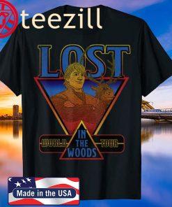 Disney Frozen 2 Kristoff & Sven Lost In The Woods World Tour Shirt