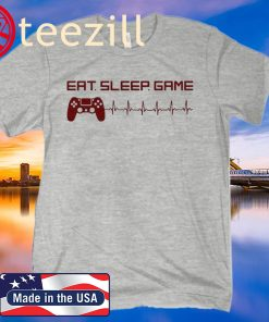 Eat Sleep Game Smitty T-Shirt