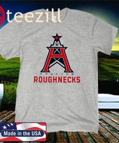 Houston Roughnecks Mens Logo Shirt