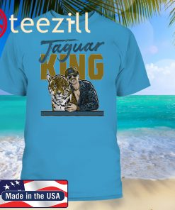 Jaguar King Shirt, Jacksonville - Gardner Minshew Official Licensed