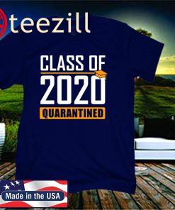 Men's Class of 2020 Quarantined Graduation Senior Quarantine T-Shirts