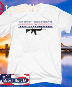 Mindy Robinson for Congress 2020 AR-15 Clasic T-Shirt