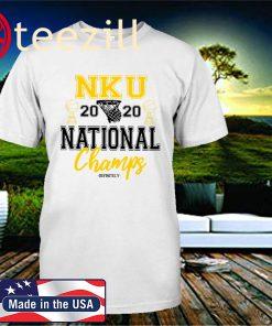 NKU Basketball 2020 National Champions T-Shirt