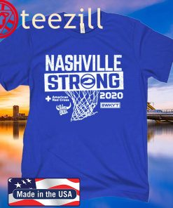 Nashville Strong Basketball 2020 T-Shirt