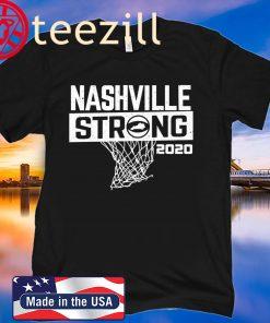 Nashville Strong Basketball Charity Shirt