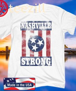Nashville Strong Flag Tshirt