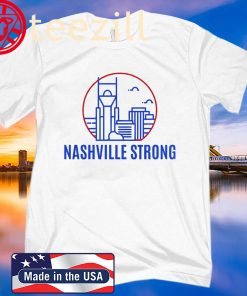 Nashville Strong T-Shirt Benefiting The Middle Tennessee
