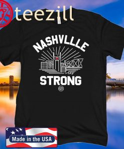Nashville Strong Tee - Project 615 TShirt
