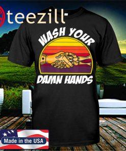Plague Doctor Wash Your Damn Hand T-Shirt Ladies T-Shirt