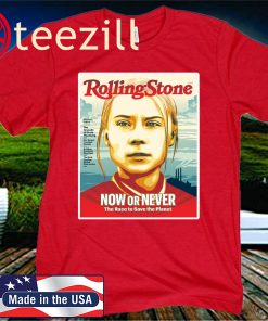 Rolling Stone Now Or Never The Race To Save The Planet T-Shirt