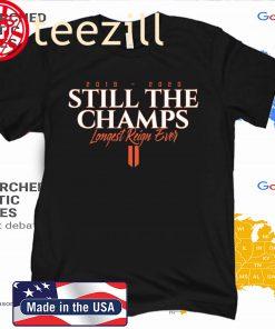 STILL THE CHAMPS T-SHIRT Charlottesville
