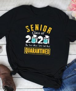Senior Class of 2020 Quarantine Graduation Toilet Paper Tee Shirt