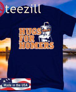 Tony Kemp and Evan Gattis T-Shirt Hugs For Homers