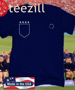 USWNT Players Unity. 4 stars only. Who's with us? Shirt