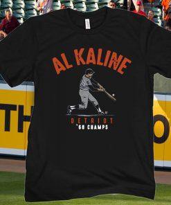 Al Kaline Shirt, '68 Champs, Detroit - MLBPAA Licensed