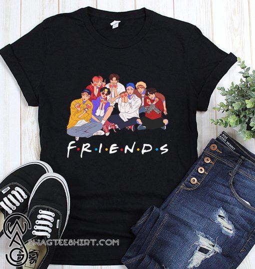 BTS friends tv show Tshirt