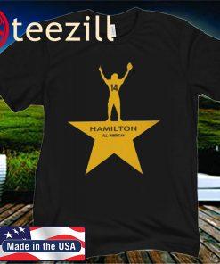 Hamilton All - American Football T-Shirts