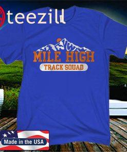 MILE HIGH TRACK SQUAD CLASSIC T-SHIRT