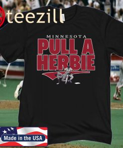 Minnesota Kent Hrbek Pull A Herbie T-Shirt