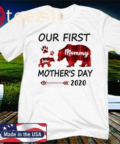 Mom Baby Matching Outfits Our First Mothers Day 2020 Shirt