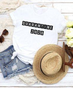 Quarantine 2020 Shirt, class of 2020 t-shirt, Stay at Home shirt, Quarantine Shirt, Social Distancing Shirt, funny t shirt