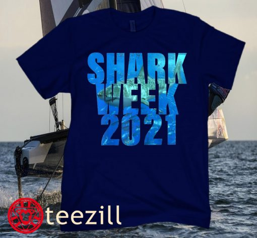 Shark 2021 Week Passion for Sharks T-Shirt