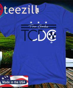 Tina Charles TC To DC T-Shirt