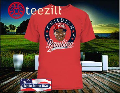 Washington Nationals' Juan Soto - Childish Bambino 2020 T-Shirt