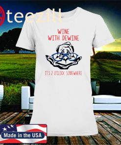 Wine With Dewine Drinking Game Classic T-Shirt