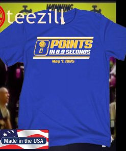 8 POINTS IN 8.9 SECONDS TSHIRT