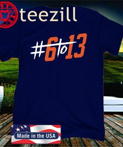 #6to13 Cleveland Football T-Shirt