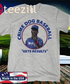 Fred McGriff Shirt, Crime Dog Baseball, Atlanta and Toronto