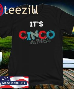 It's Cinco De Moe's Drinko 2020 T-Shirt