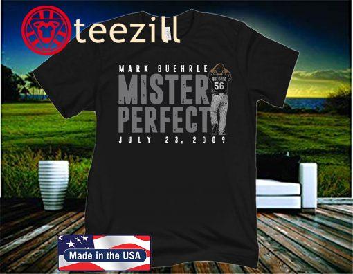 Mark Buehrle T-Shirt, Mister Perfect, Chicago - MLBPAA