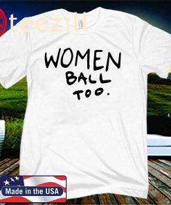 NBA jordan bell women ball too classic t-hirt