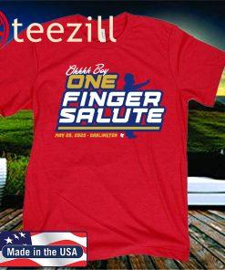 One Finger Salute Racing T-Shirt
