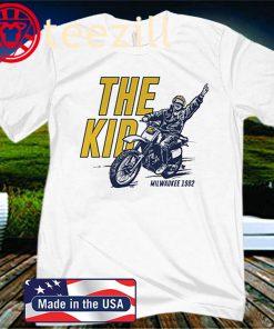 Robin Yount T-Shirt, The Kid, Milwaukee - MLBPAA Licensed