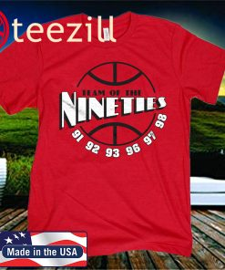 Team Of The Nineties Chicago 2020 T-shirt