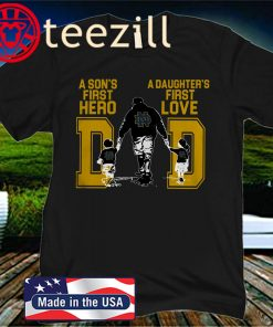 A Son And Daughter Notre Dame Football Dad 2020 Shirt