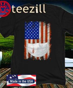 American Flag Quarantined Official T-Shirt