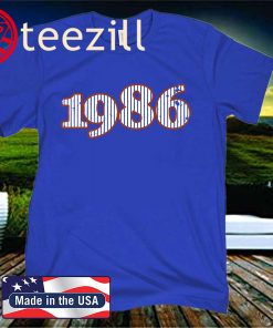 1986 - 2020 Shirt - New York Baseball